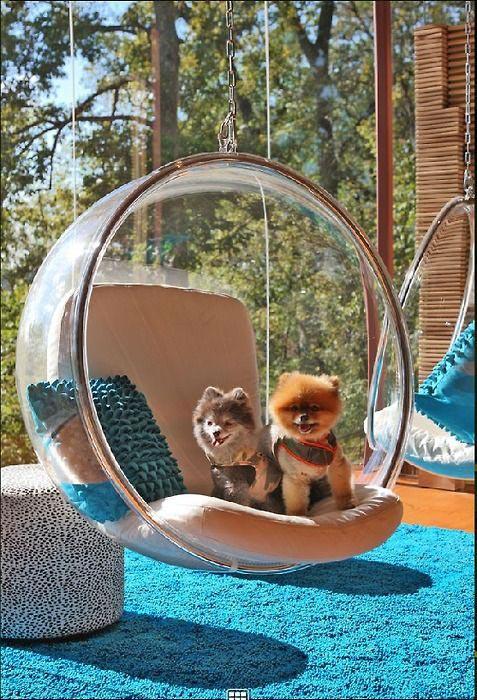 Cadeira para varanda Bubble Chair