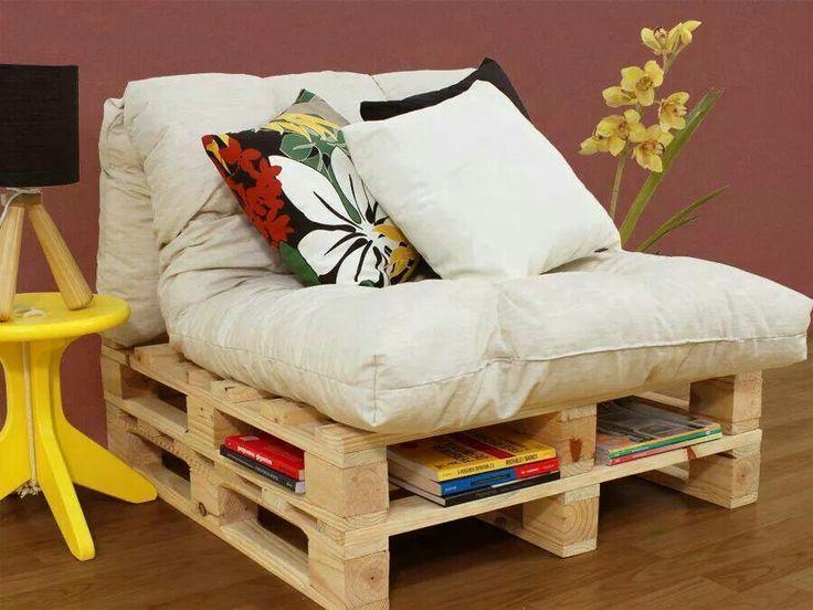 Cadeira para varanda - pallets