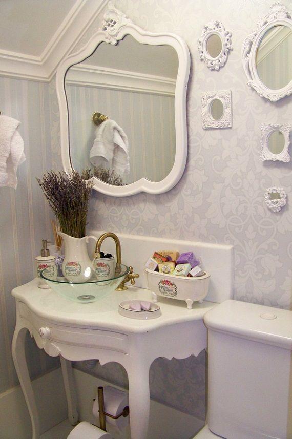Penteadeira Provençal  Como escolher o móvel mais bonito -> Armario De Banheiro Com Espelho Tok Stok