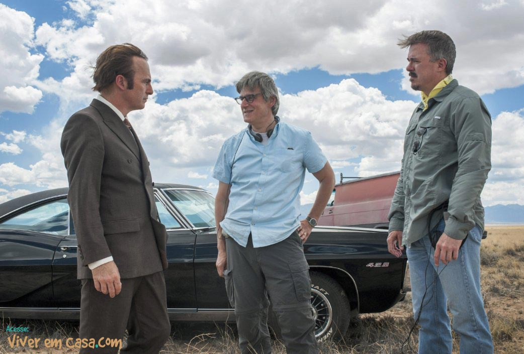 Vince Gilligan, Peter Gould e Bob Odenkirk