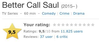 better call saul imdb