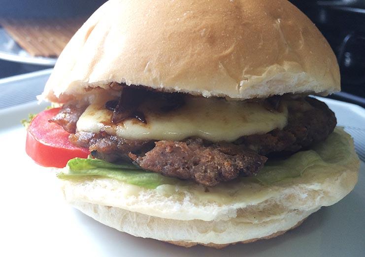 Como fazer hambúrguer