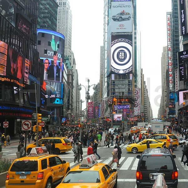 Quadro para sala - new york cidade