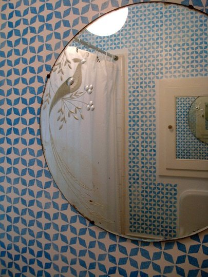 azulejo - lavabo retro