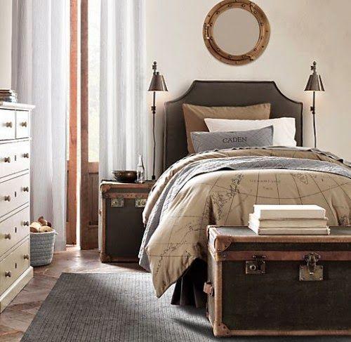 Baú Para Quarto ~ Como decorar com baú para quarto Viver em Casa