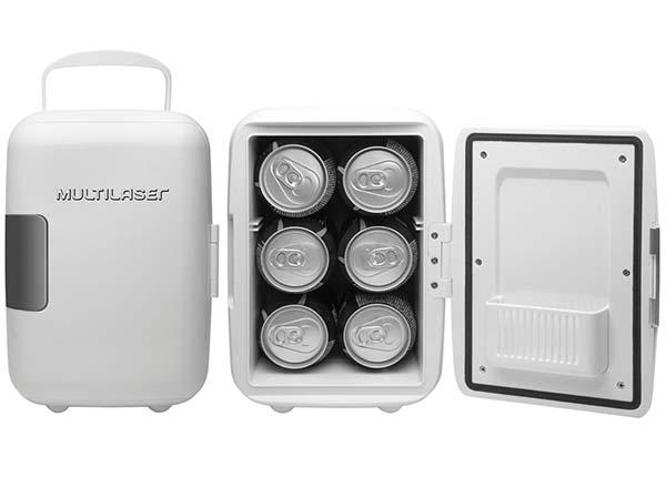 mini geladeira portatil multilaser