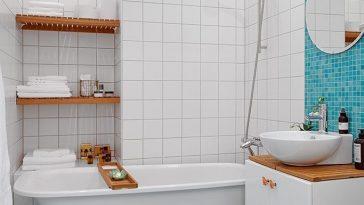 Banheiros decorados com pastilhas – 35 lindas ideias