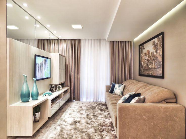12 – Decoração de sala pequena preto e branco – Muito Design