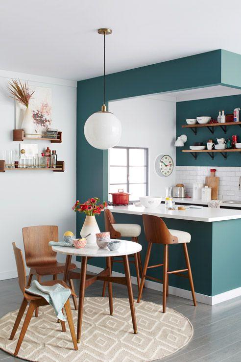 cozinha_americana_apartamento_verde