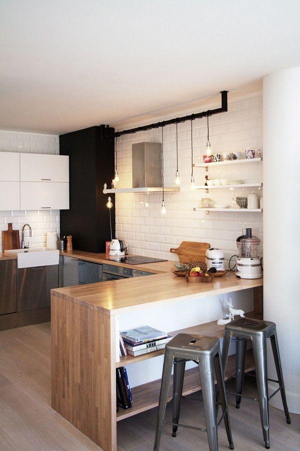 Decorao Apartamento Pequeno Cozinha Americana