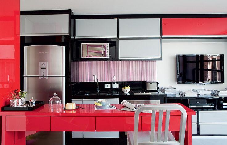 cozinha_americana_vermelha
