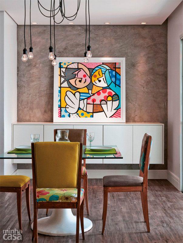 Como Usar Quadros Na Sala De Estar ~ Lindas ideias de quadros para sala de jantar  Viver em Casa