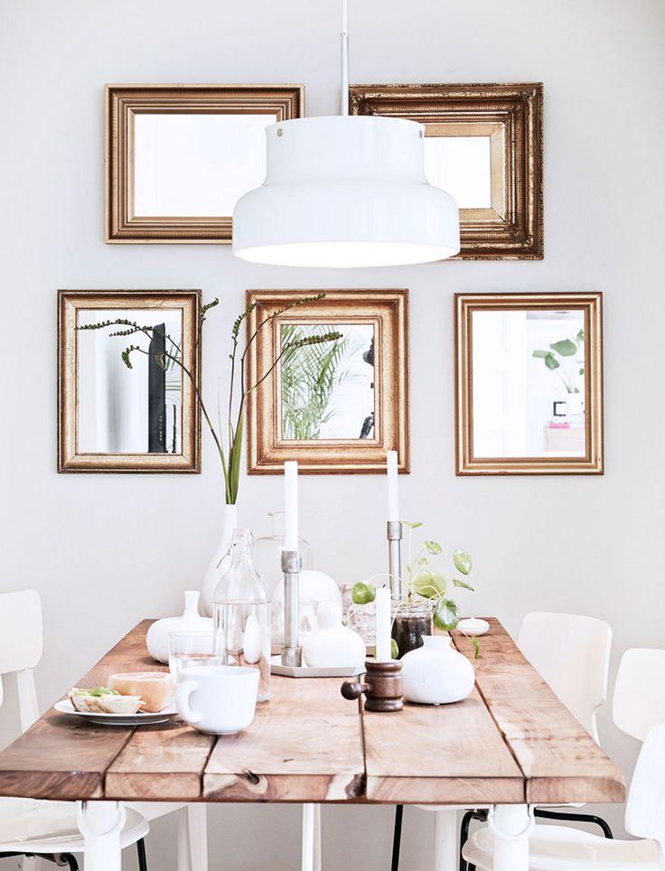 Lindas ideias de quadros para sala de jantar viver em casa for Espejos para decoracion de comedores