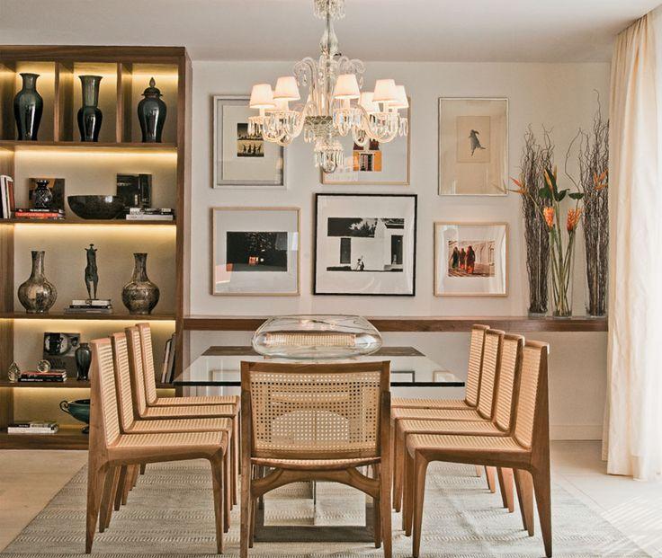 Quadro De Fotos Na Sala De Jantar ~ Lindas ideias de quadros para sala de jantar  Viver em Casa