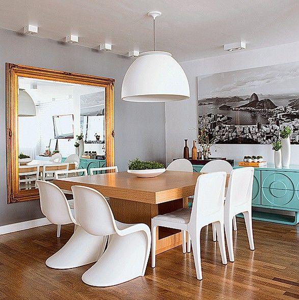 4cb5905cb Lindas ideias de quadros para sala de jantar - Viver em Casa