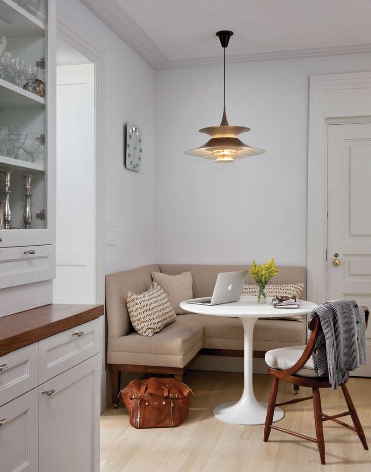 Decoração de apartamentos pequenos - sala de estar e jantar