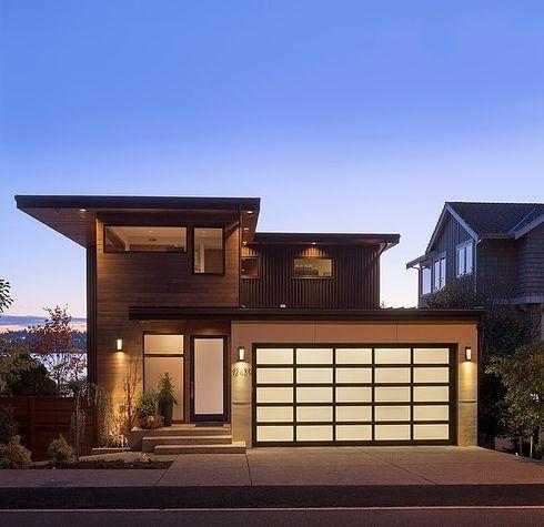 Fachada de casas pequenas e modernas 25 lindas ideias for Fachadas modernas para casas 2016