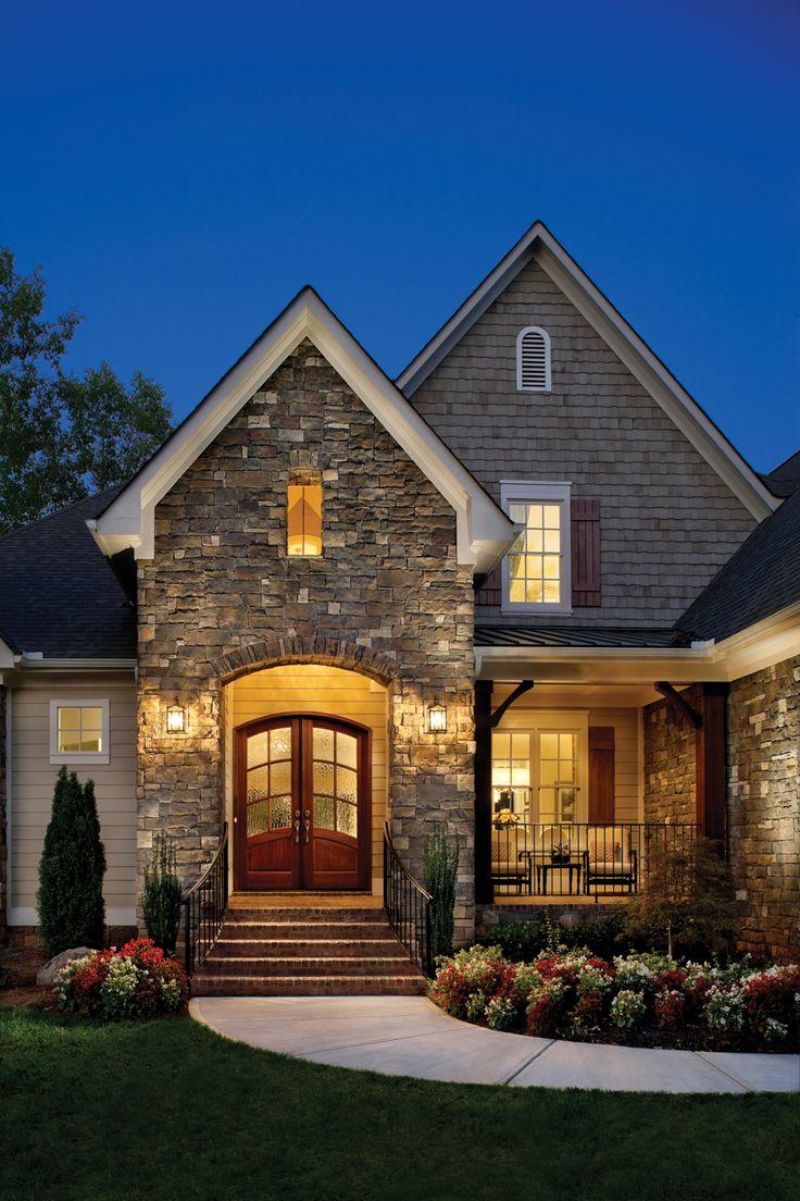 Fachada de casas pequenas e modernas 25 lindas ideias for Casas rusticas pequenas
