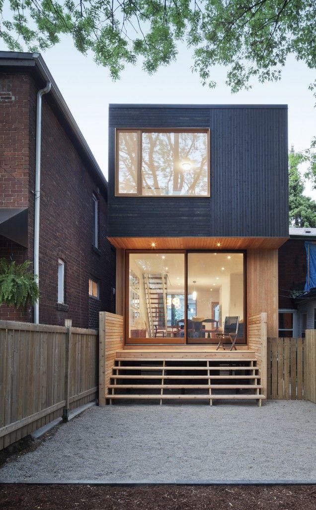 Fachada de casas pequenas e modernas 25 lindas ideias - Casas pequenas ...