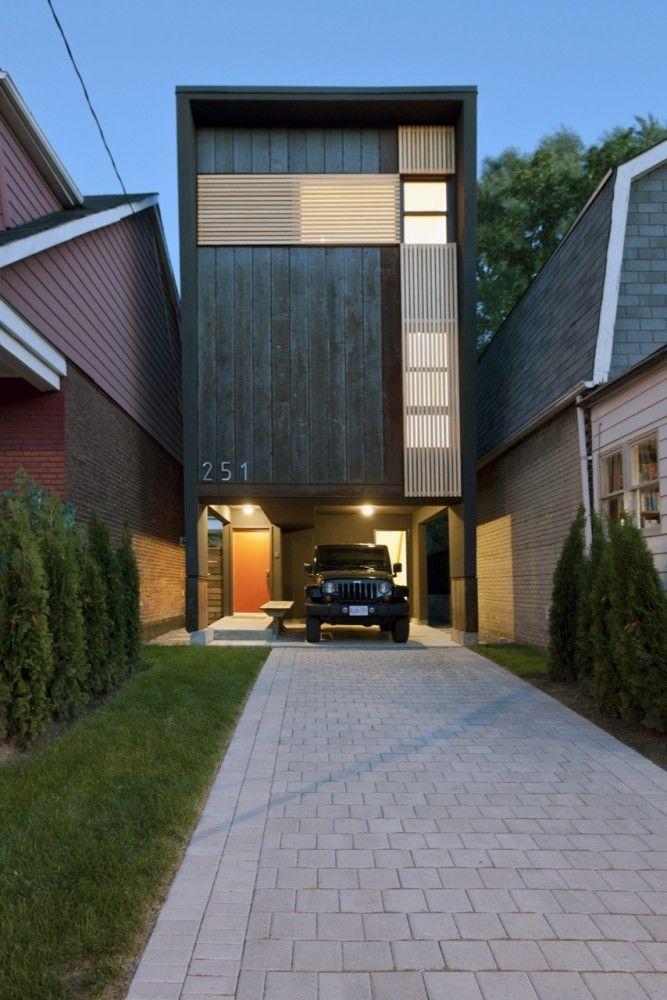 Fachada de casas pequenas e modernas 25 lindas ideias for Fachadas para departamentos pequenos