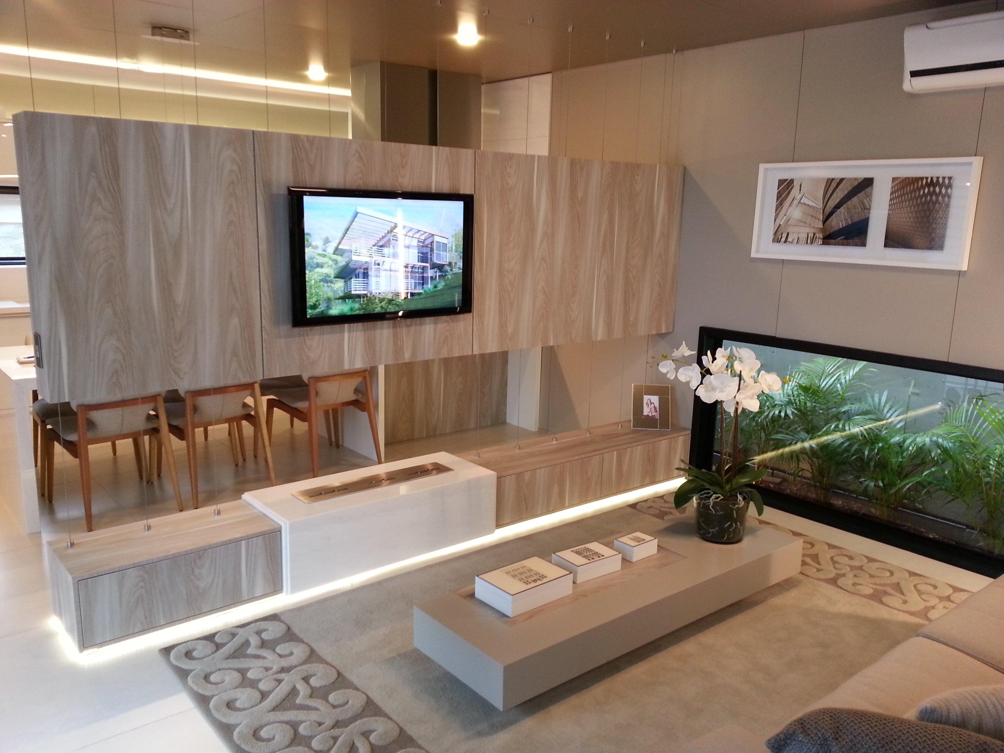 Decoração de apartamentos pequenos - sala de tv