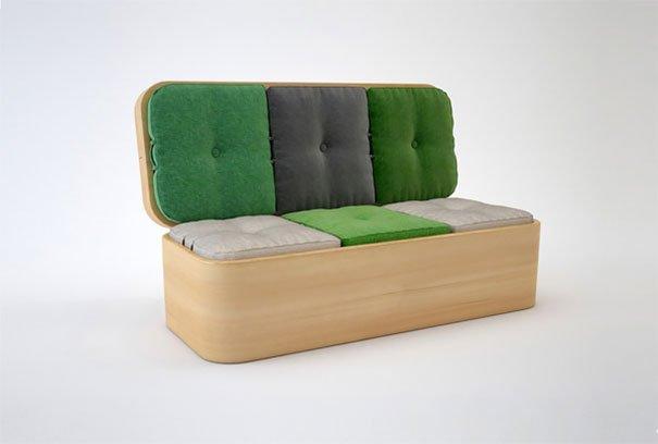 Decora o de apartamentos pequenos 30 ideias geniais - Sofas para espacios pequenos ...
