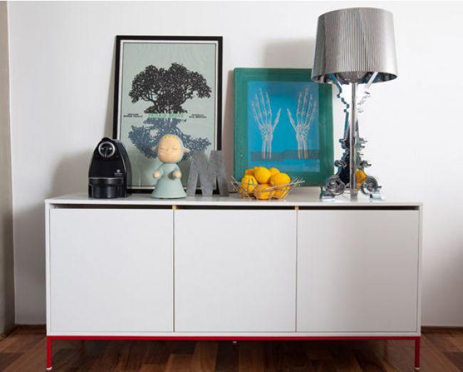 Decora o de apartamentos pequenos 30 ideias geniais for Sideboard 2 50 m