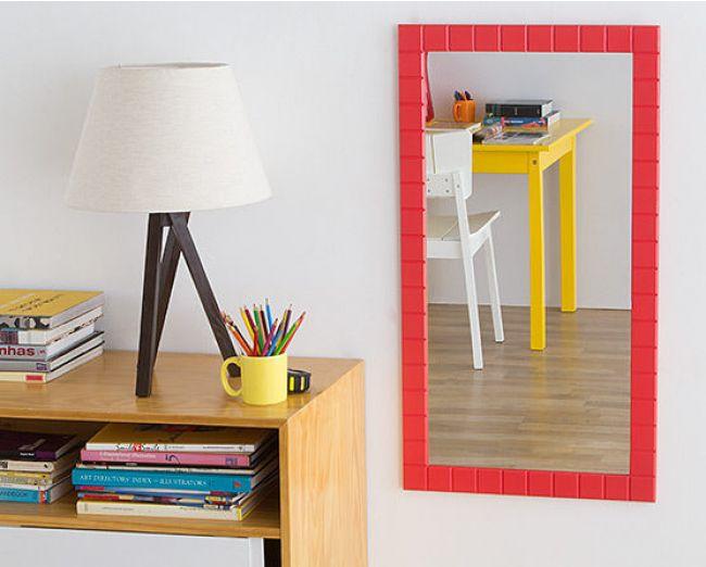 Decoração de apartamentos pequenos com espelhos