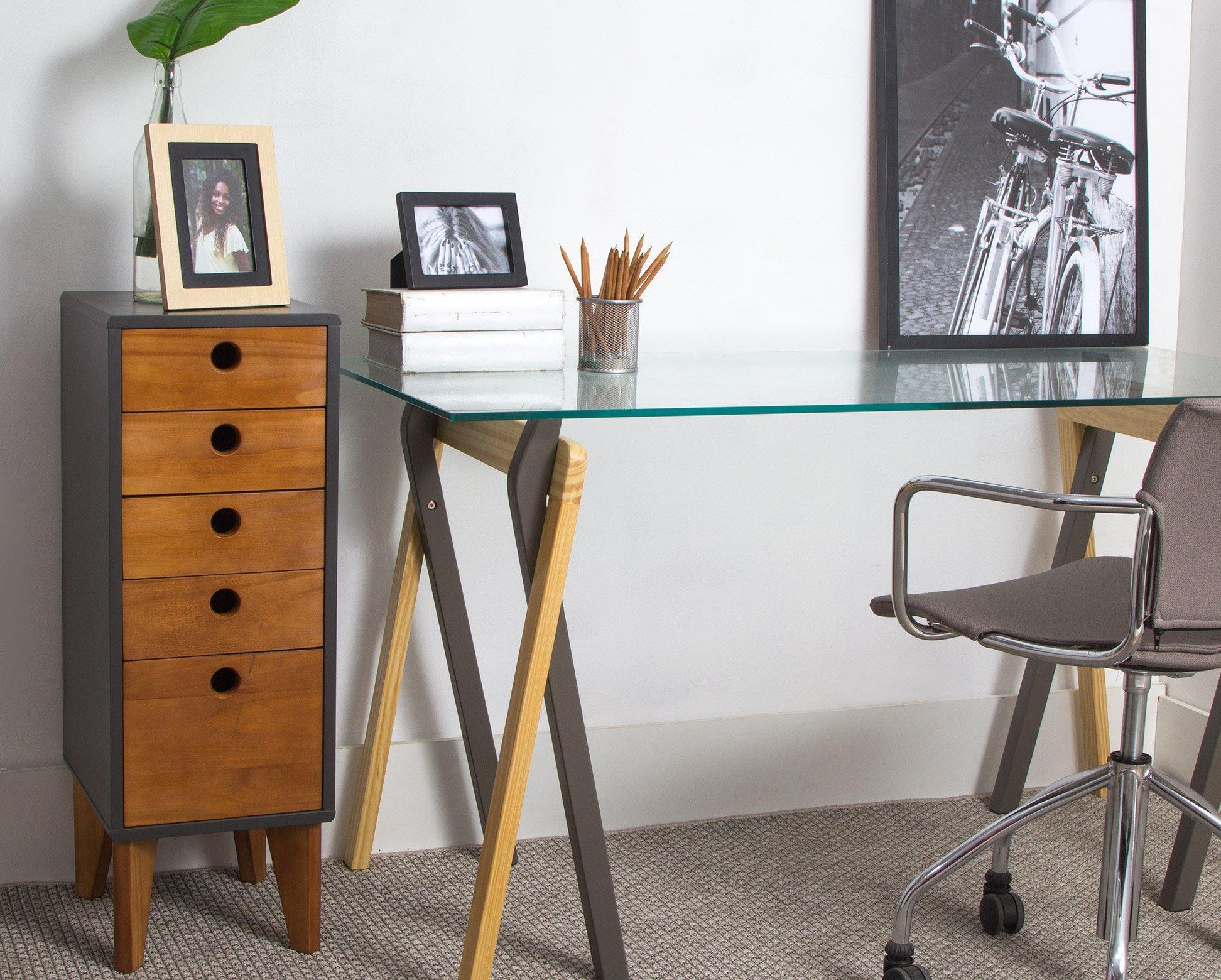 20 – Decoração de apartamentos pequenos – escrivaninha #9B6630 1944x1560