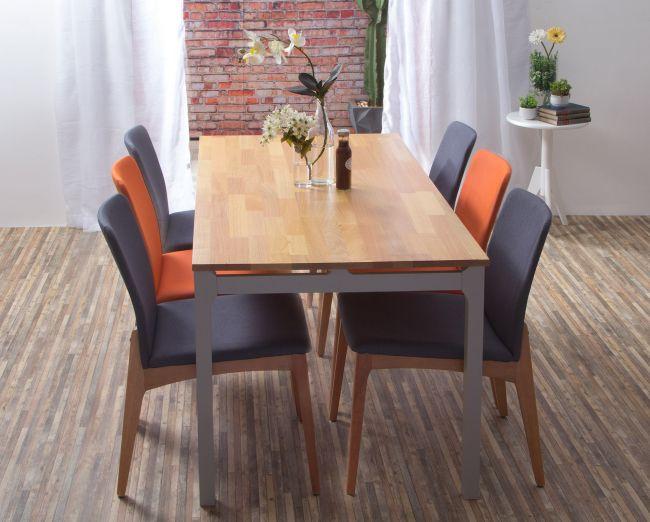 Decoração de apartamentos pequenos mesa de jantar Itamaraty