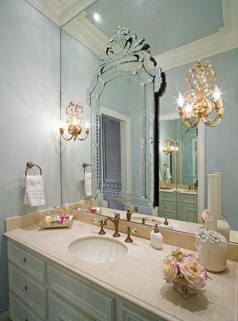 Espelho veneziano  Decoração, Preço, Onde comprar barato -> Onde Comprar Armario De Banheiro Barato