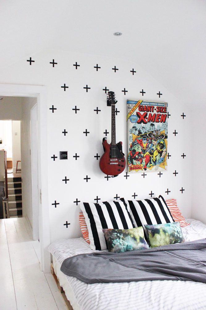 Papel de parede para quarto de menino, bebê e adolescente