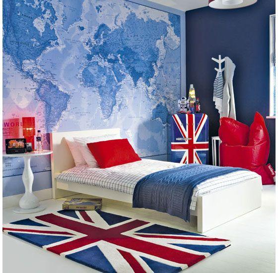 Papel de parede para quarto de adolescente