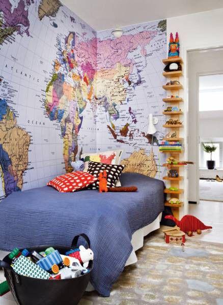 Papel de parede para quarto de menino beb e adolescente for Jugendzimmer colori