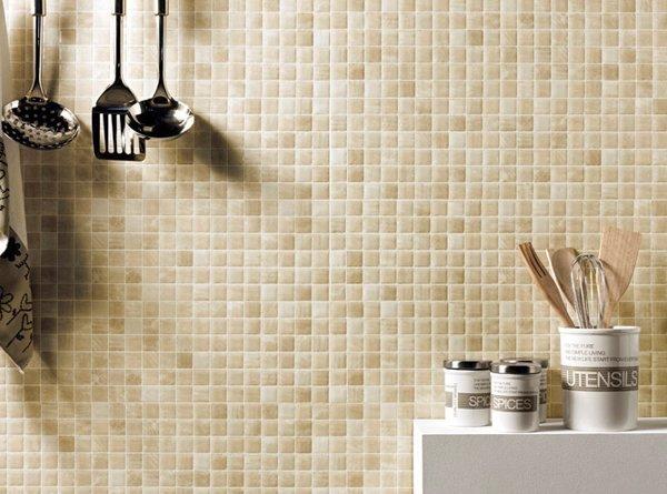 Cozinhas decoradas com pastilhas 40 lindas ideias for Azulejo vitrificado
