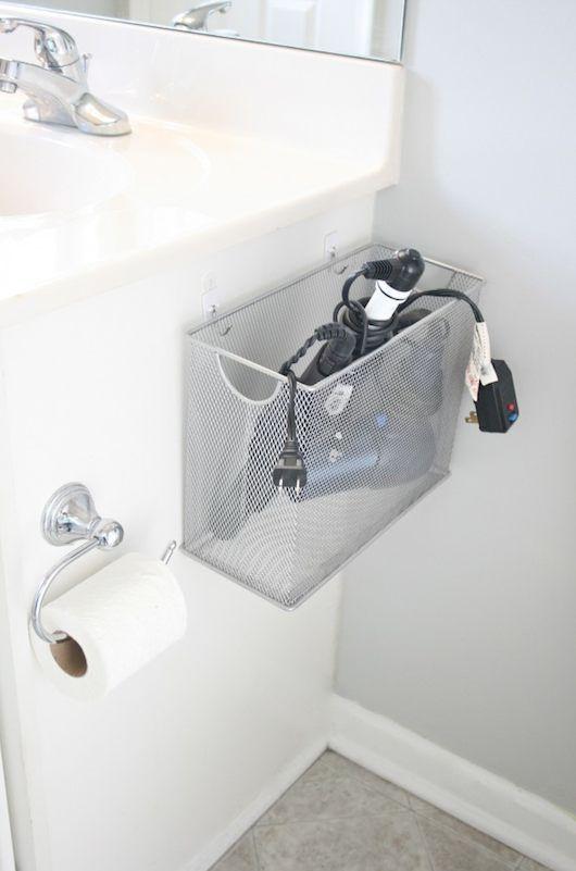 Organizador para banheiros pequenos