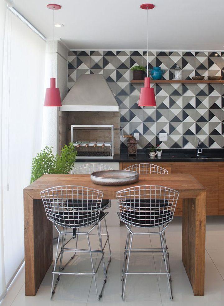 Resultado de imagem para papel de parede para area gourmet