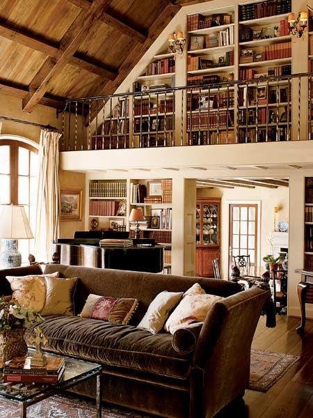 Sala clássica decorada