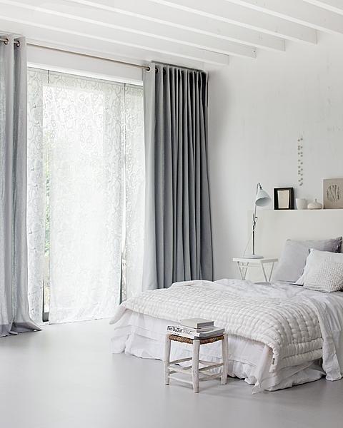 Cortinas para quarto tipos de cortina e 18 lindas ideias for Cortinas grises