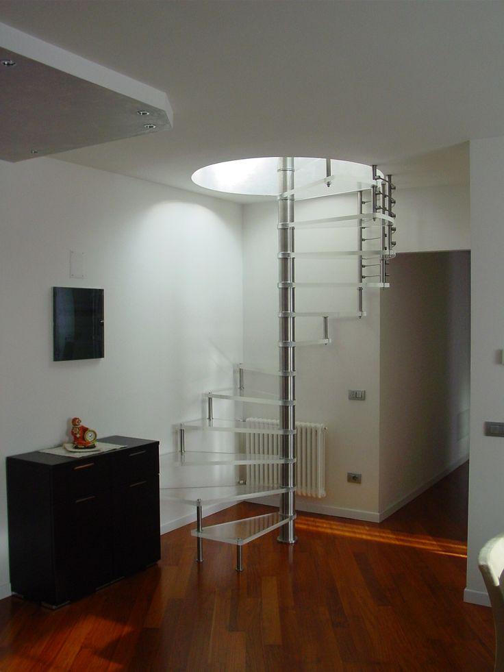 Modelos de escada dentro de casa modelos criativos de for Modelo de casa x dentro