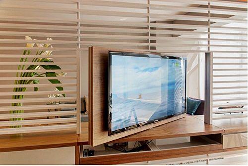 rack com painel para tv giratório