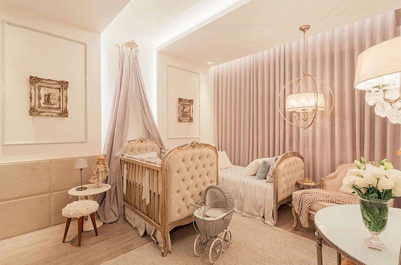 Cortina para quarto de bebê - Menina / Feminino