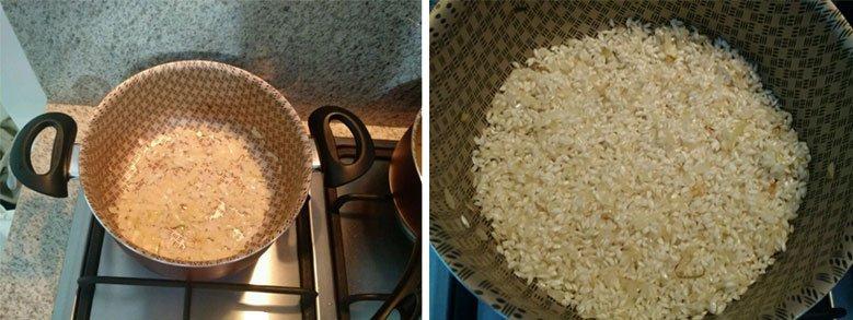 risoto alho poro arroz arbóreo