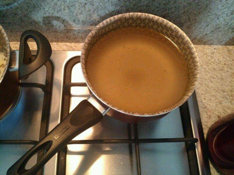 risoto de alho poró caldo