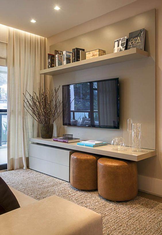 decoracao de sala rack:Rack com Painel para TV – Dicas para escolher a seu