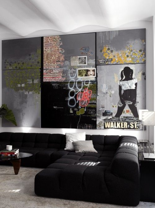 Wall Art At House Of Fraser : Decora??o com sof? preto dicas para deixar sua casa linda