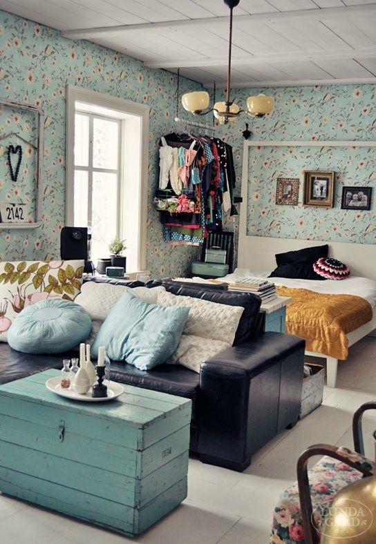 sofá com quarto integrado
