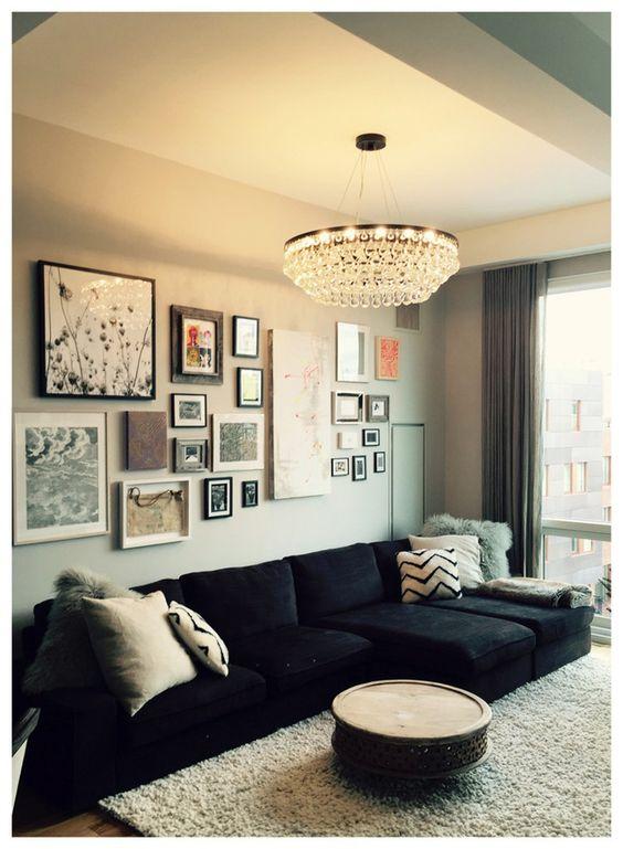 decoracao de sala sofa preto : decoracao de sala sofa preto ? Doitri.com