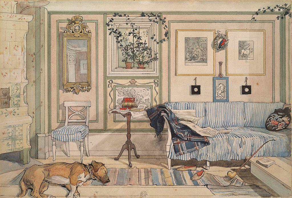 Carl Larsson - estilo escandinavo