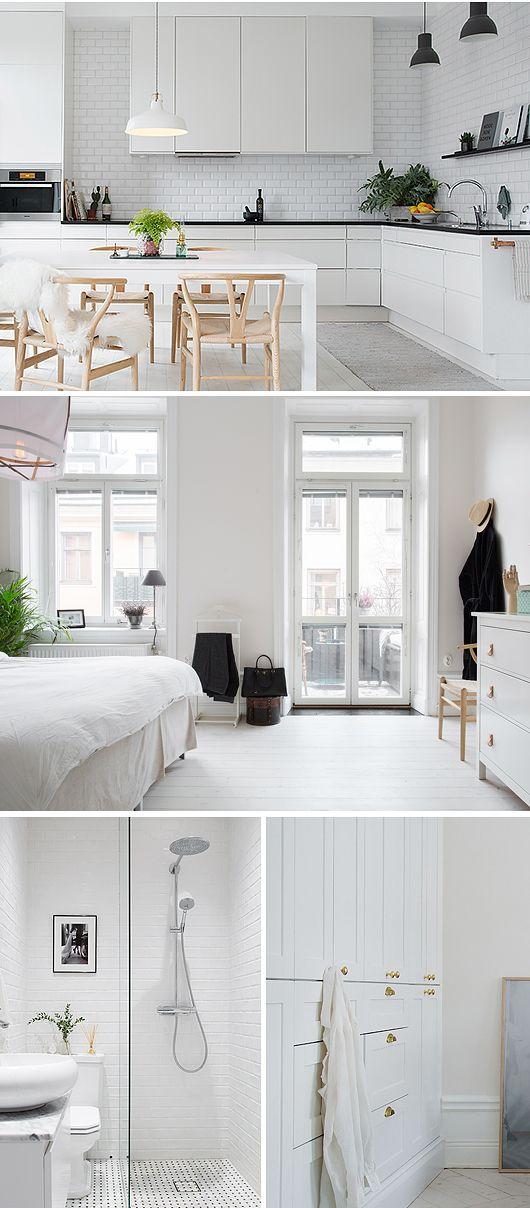 Casa decorada - estilo escandinavo